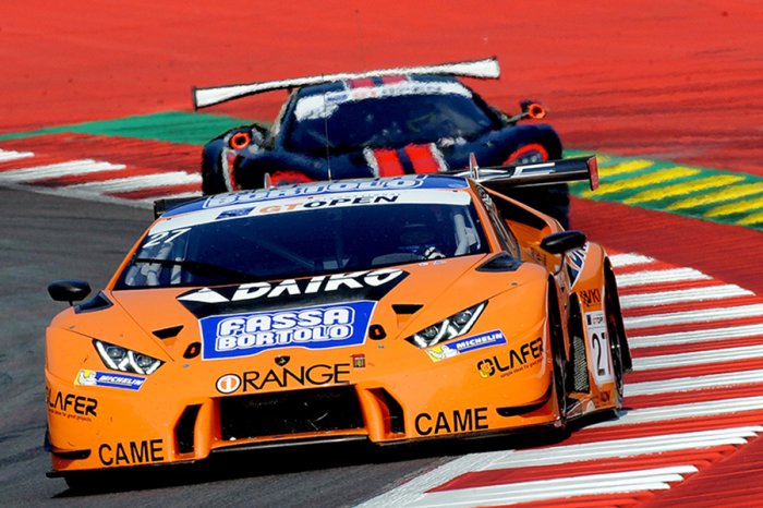 Lamborghini Huracán GT3 義大利GT旗開雙勝