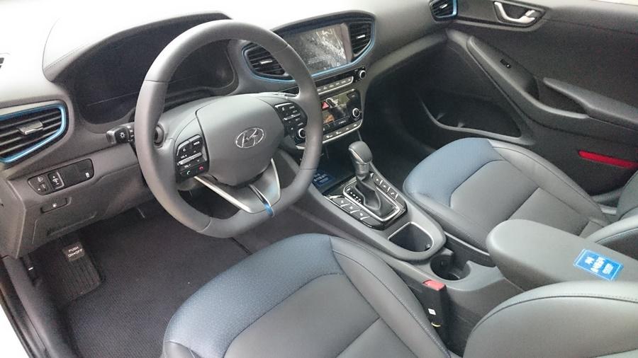 Hyundai Ioniq。