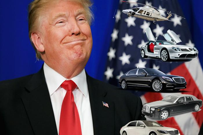 透視第45任美國總統私人車隊  川普其實沒那麼愛國