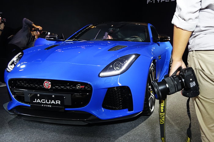 【影音】 Jaguar F-TYPE SVR搶先曝光