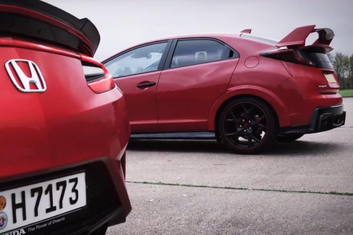 Honda Civic Type R要偷跑幾秒才能贏NSX?