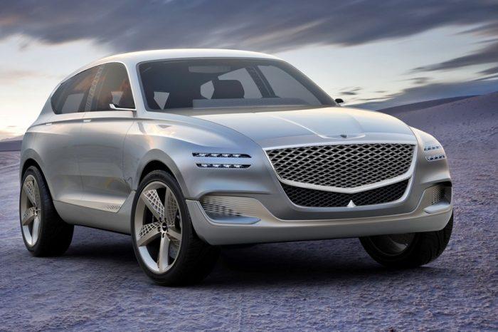 賓利老闆一定很想告現代汽車 Genesis概念休旅車GV80實在太賓利!