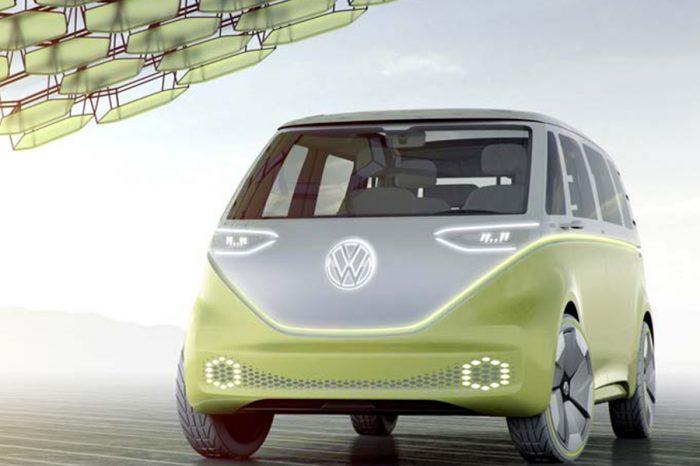 再續愛的麵包魂!Volkswagen已確定將電動概念車I.D. Buzz量產