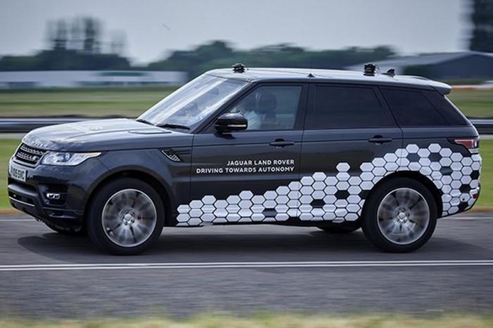 無人自駕車大賽,Land Rover竟領先群雄 推出等級五Range Rover Sport自駕車