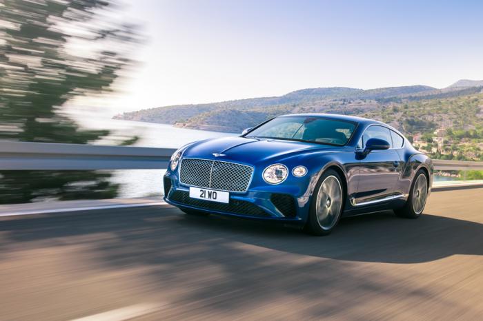 更輕更豪華更快更帥!第三代全新Bentley Continental GT登場