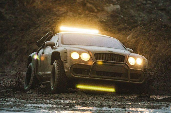 想開Bentley Continental參加拉力賽?這輛就對了