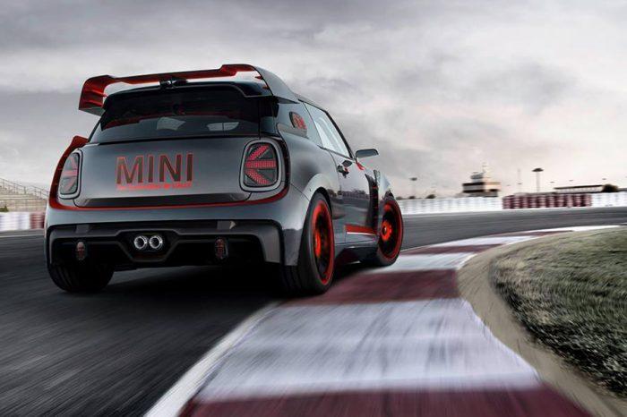 不讓純電版專美於前!Mini John Cooper Works GP Concept飆進法蘭克福