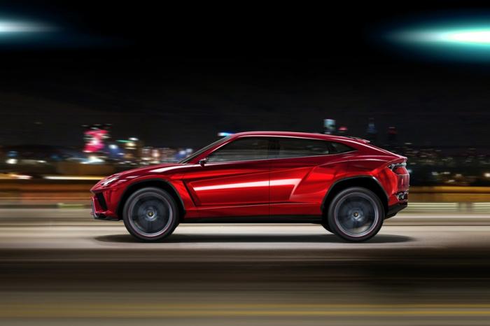 Lamborghini預告旗下SUV車款 Urus將於12月4日登場