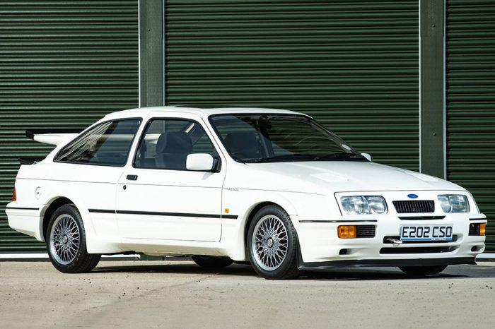 用了時間停止器?根本新車的Ford Sierra Cosworth將再次打破拍賣紀錄!