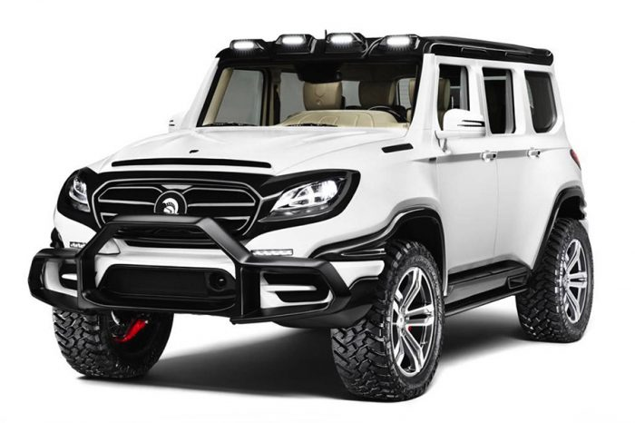 萬聖節應景車款?擁有760 hp的Mercedes-AMG G-Class嚇到讓人吃手手!