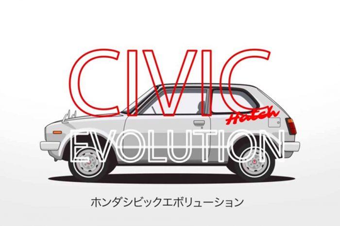 年輕世代傳奇!簡述Honda Civic約44年發展歷史的影片!