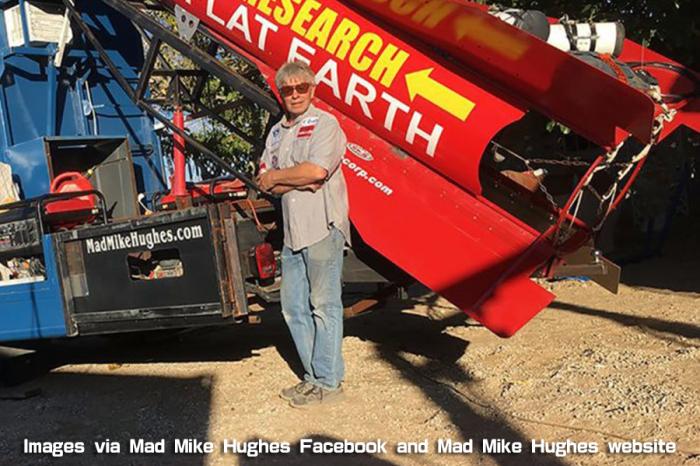 為證明地球不是圓的 阿伯將搭乘DIY火箭升空