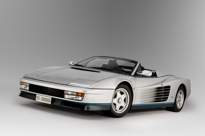 馬王之王!全球唯一Ferrari Testarossa Spider