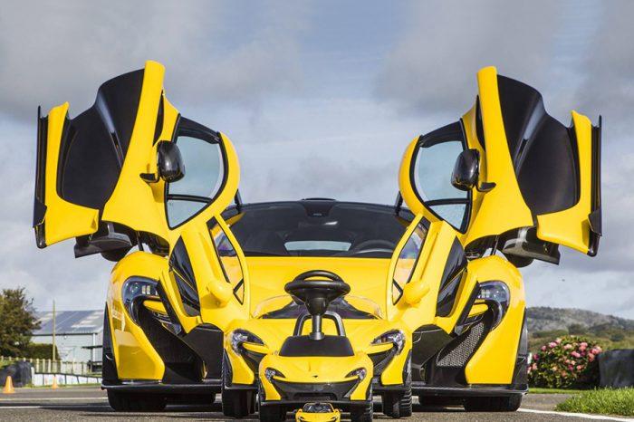 大家都買得起的McLaren P1!學步特仕版現身!