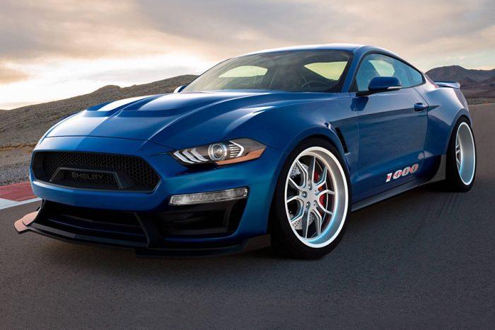 野馬衝到1000hp?Shelby打造超暴力賽道版Mustang!