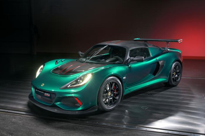 Lotus Exige Cup 430無限版登場