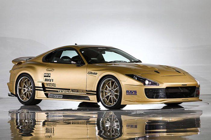 極速357km/h!Top Secret操刀的V12 Toyota Supra即將拍賣!