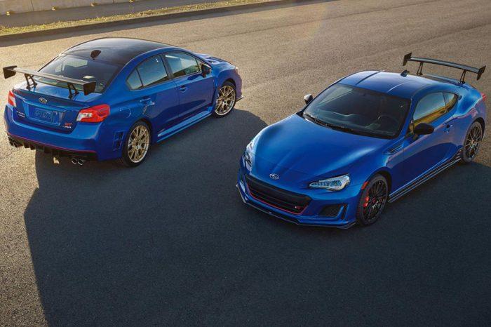 硬派雙雄!Subaru公布WRX STI Type RA和BRZ TS的美國售價!