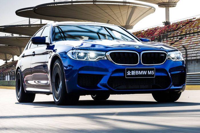 火力展示!BMW M5刷新上海賽車場的單圈紀錄!
