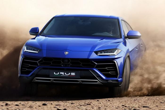超跑級SUV登場!Lamborghini Urus真強!