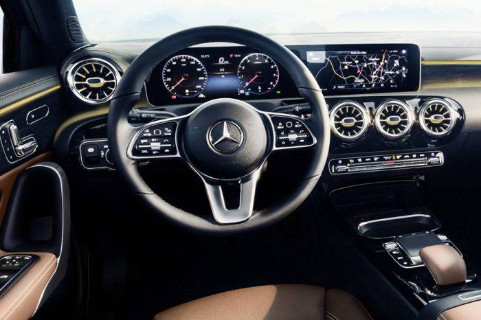 車內的革命!Mercedes-Benz以A-Class展示最新的高科技儀表板與娛樂系統!