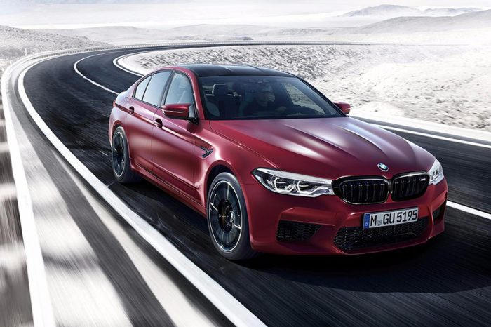 甩爆8小時!BMW再推2018 M5的甩尾表演片段!