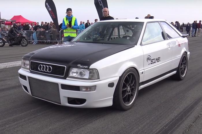 20年Audi S2竟比雙渦輪藍寶堅尼還猛!