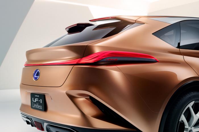 Lexus發表LF-1 Limitless跑旅概念車