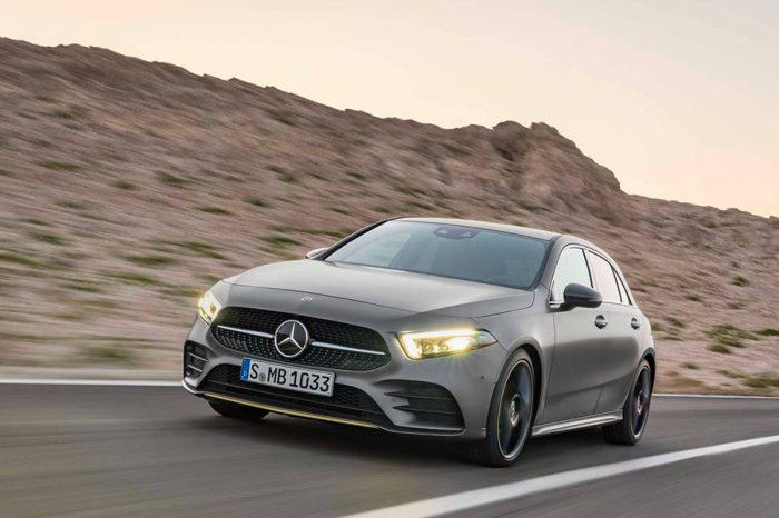 Mercedes-Benz大改款A-Class正式登場後,該畫重點給大家了