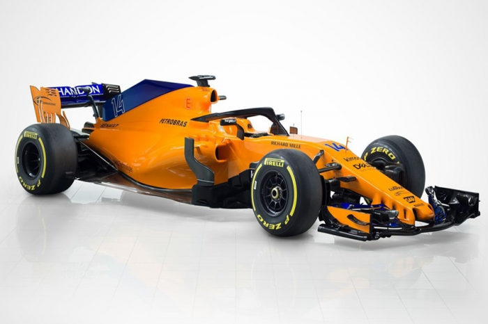 麥拿崙F1車隊發表2018年式新戰車MCL33