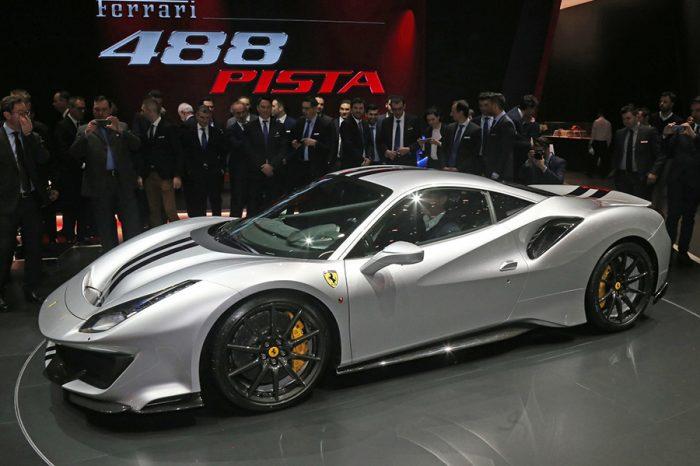 《2018日內瓦車展》Ferrari 488 Pista搭載法拉利史上最強V8