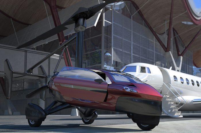 40萬美金就能買輛PAL-V飛天車!