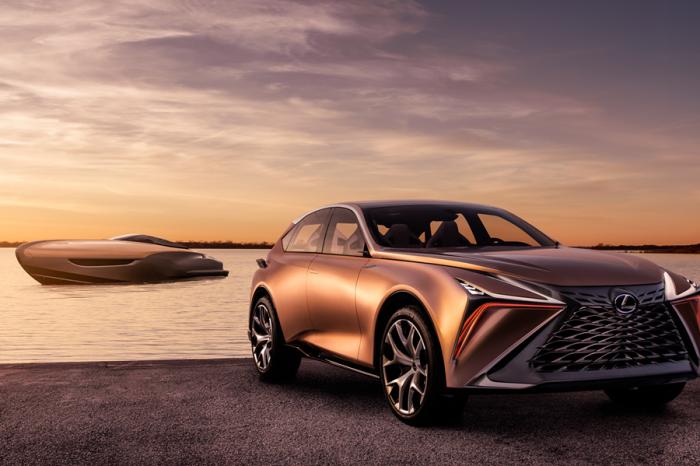 Lexus跨足豪華遊艇 2019年下半年度將於北美上市