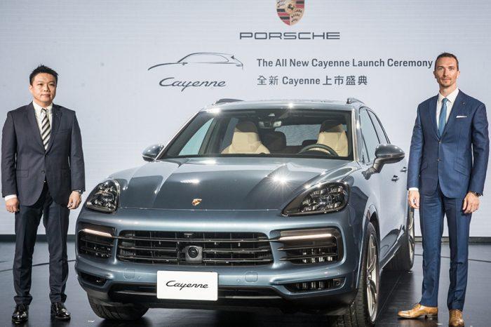 全新第三代Porsche Cayenne正式在台上市