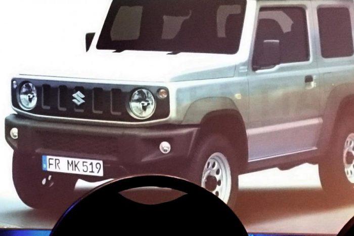 大改款第4代Suzuki Jimny明年初發表?