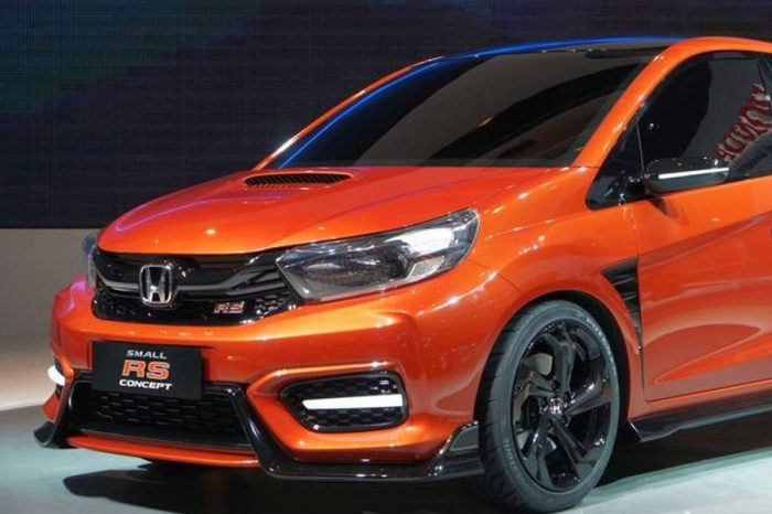 Honda用小車Brio打造Small RS Concept!終於要認真做微鋼砲了嗎?
