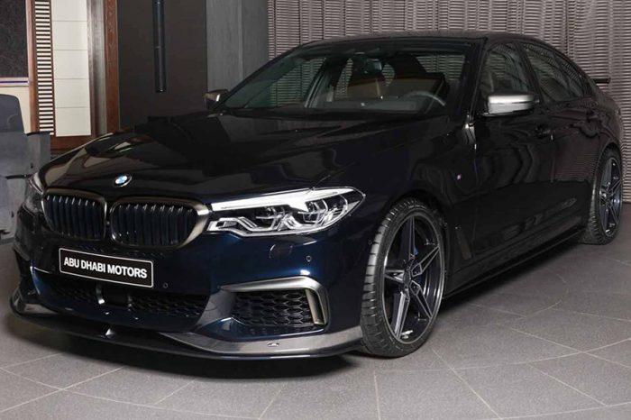 由AC Schnitzer加持的BMW M550i能否擁有比M5更兇的扮相呢?
