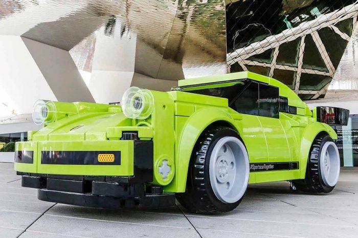 夢幻玩具!Porsche以LEGO積木重現仿真大小的911 Turbo!