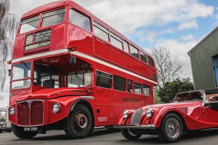 英國人民的記憶!Morgan下一步將重新呈現經典的紅色雙層巴士!