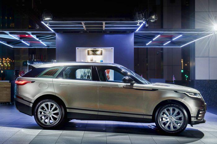Range Rover Velar現身信義商圈