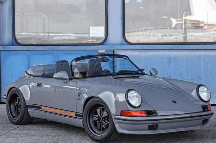 以Targa改裝而來的Porsche 911 Speedster呈現出不輸本尊的復古氣息!
