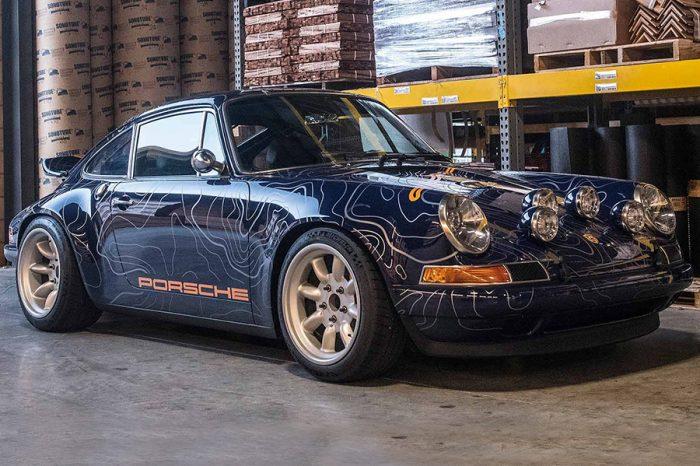 來自Singer的新作品!發想自暗夜山谷競速的翻新Porsche 911!