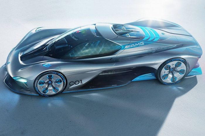 C01 Vision想像概念車夠格成為Mercedes-AMG Project One的繼任車嗎?
