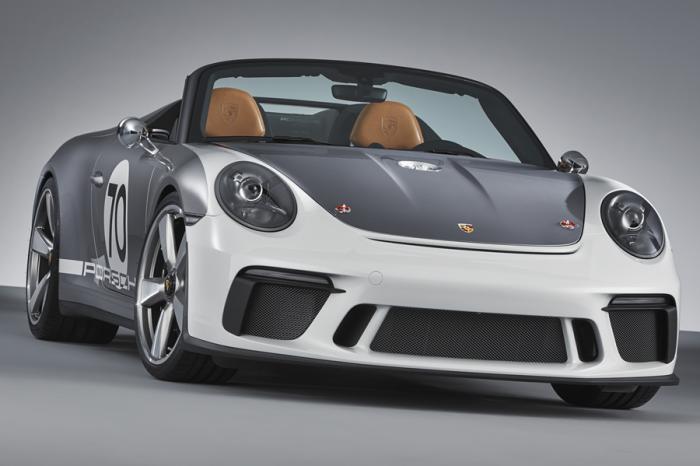 保時捷發表70週年概念車911 Speedster Concept!