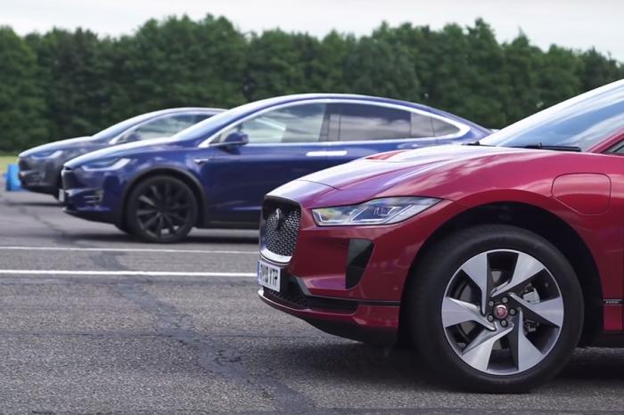 挑戰Tesla Model X!Jaguar I-Pace夠快嗎?