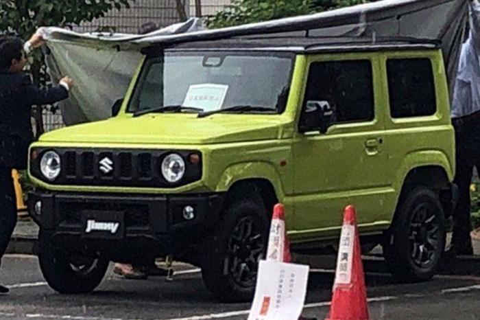 上市日期倒數中!Suzuki Jimny傳7月5日正式發表
