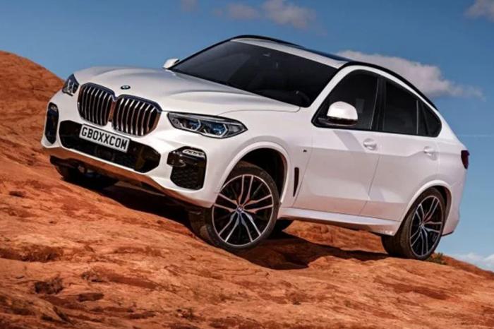 看完X5後 未來BMW X6可能長這樣?