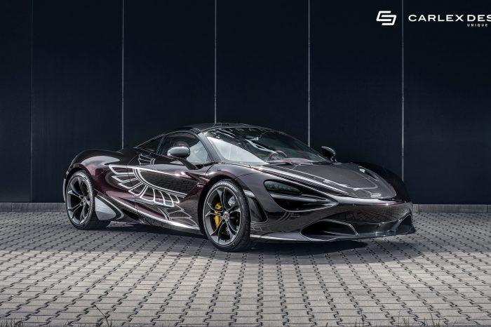 Carlex Design用勃艮第色讓McLaren 720S的內裝呈現另一個檔次的高級質感!