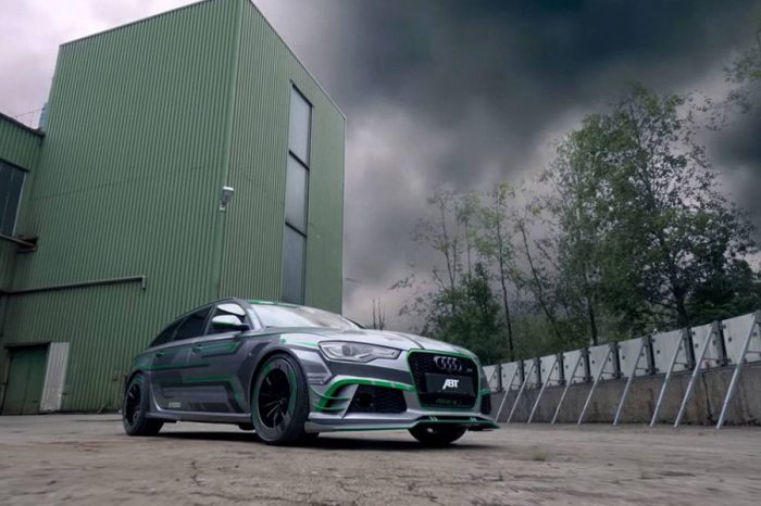 ABT加上Hybrid=?答案是動力高達1018HP的Audi RS6-E!