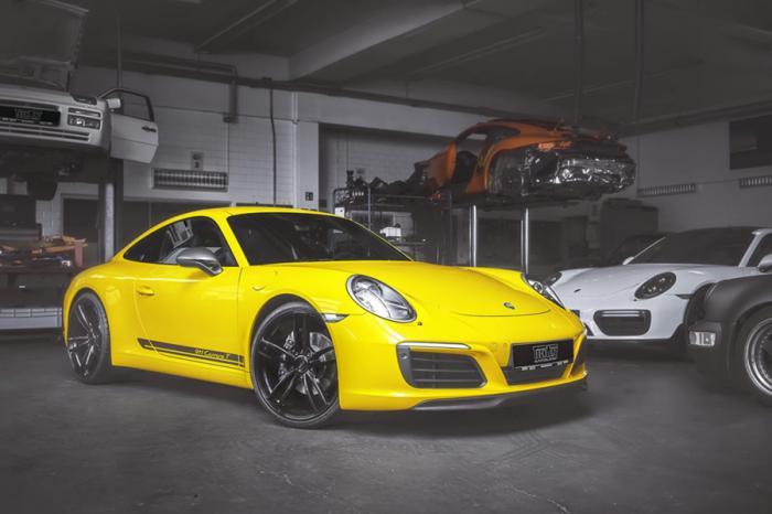 開911 Carrera T就是要改得兵強馬壯!TechArt提供大力丸套餐
